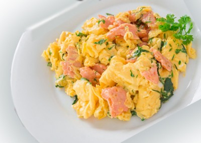 Salar Smoked Salmon, Festive Scrambled Eggs