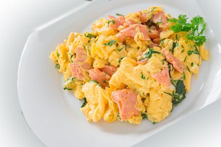 Salar Smoked Salmon, Festive Scrambled Eggs