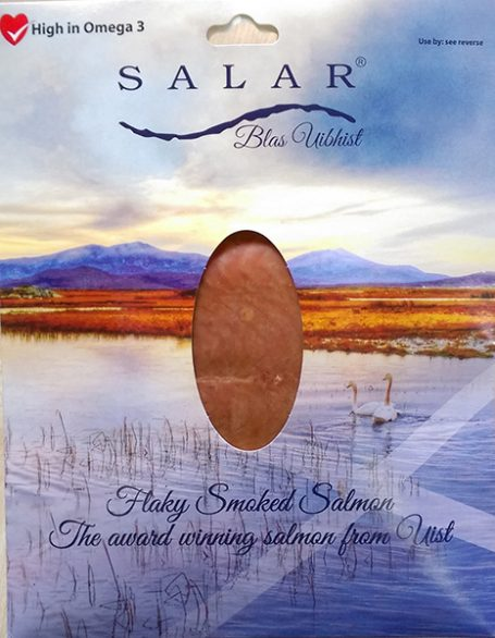 200g portions Salar flaky smoked salmon