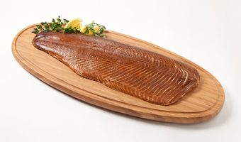 Salar Flaky Smoked Salmon - Medium Whole Side (unsliced 800g)