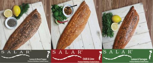 3 Pack Offer Seasoned Salar Flaky Smoked Salmon
